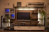 <p> Модульная система для гостиной с тумбой под TV.</p>