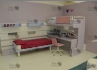 <h2> Многофункциональная мебель для детской комнаты.</h2>