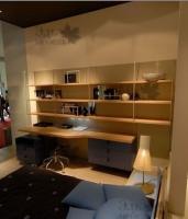 <h2>  Спальня для детской комнаты с рабочим местом.</h2>