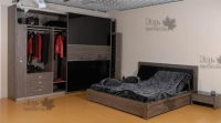 <p> Спальня шкаф купе компланарная система софт,кровать с прикроватными тумбами.</p>