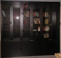 <p> Книжный шкаф библиотека из массива дуба.</p>