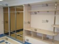 <p> Модульная система в комнату отдыха .Шкаф купе,барная стойка,стойка под TV.</p>