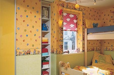 Шкаф-купе для детской комнаты